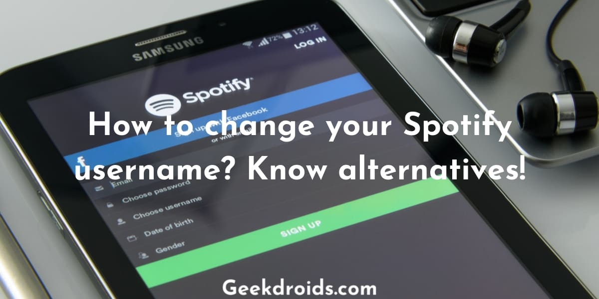 How to change your Spotify username?