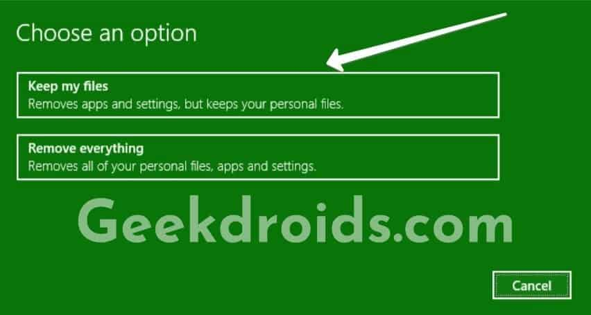windows_system_reset_options